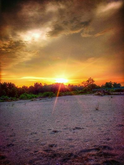 Natural Nature Landscape Portklang Sunset Sonyxperiac3