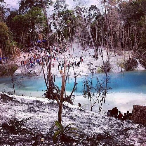 photo 2 tahun yg lalu, di kawah putih Dolok_tinggi_raja Wisata ALaM Sumut INDONESIA Lestari Image