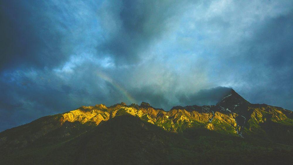 西藏的雨季,2016年7月。 风光摄影