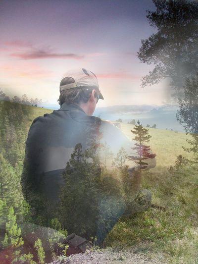 Nature Hiking Mountain Art