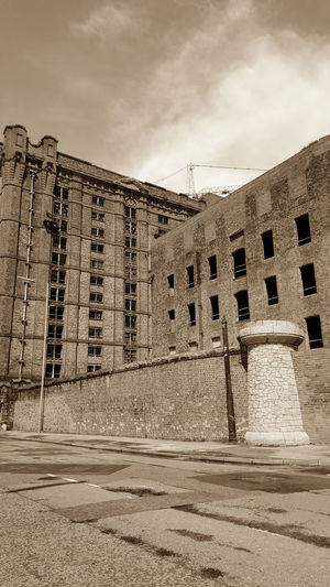 Liverpool Stanley Dock Warehouse Old Warehouse Bricks Abandoned Abandoned Buildings Old Market Peaky Blinders Film Set Sherlock Holmes 51st State