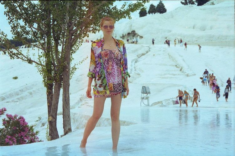 Analog Beautiful Beauty In Nature Bodylanguage Day Pamukkale Salt Summer The Great Outdoors - 2016 EyeEm Awards Turkey Vacation Woman