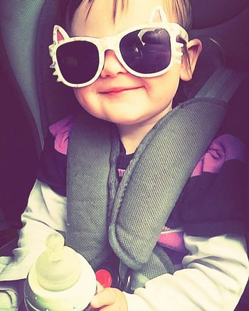 Sunglasses 😎❤❤❤👊 Child One Person Portrait Sitting Freshness 😃. 😊📷💝❤️💖💜💞💕📷📷 Childhood 😊☺☺☺ Emily 🌸 Good People Looking At Camera Children Only Iloveyou❤ Meine Prinzessin 👑👑👑👑👑👑👑 💕💕💕💓Nature 🌸good Day Germany Niedersachsen 😚