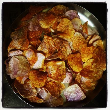 Homemade Waffers Me Dinner Puresin