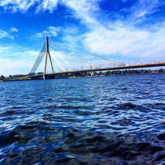 Riga Latvia Bridge Beautiful Water Afterschool  Daugava Like рига мост вода