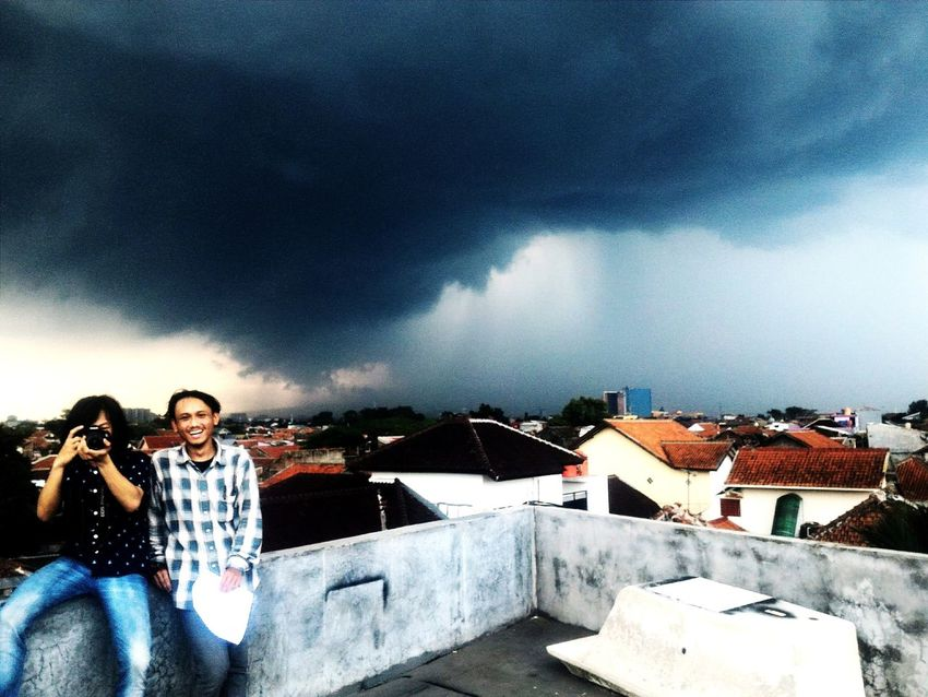 Darkcloud Clouds And Sky Bandungcity Lifeofadventure Nature Photography Black Rooftop Shadow Potrait Landscape Thegreatoutdoorswithadobe