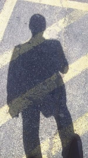 Life is but a walking shadow. 👤
