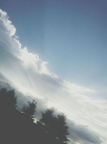 Sun Sky Clouds First Eyeem Photo
