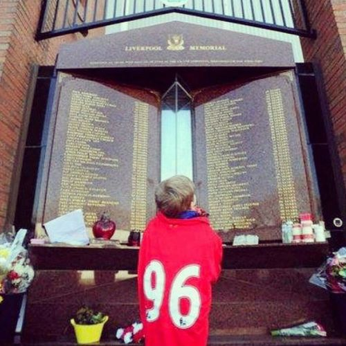 Always on our mind JFT96 YNWA Lfc