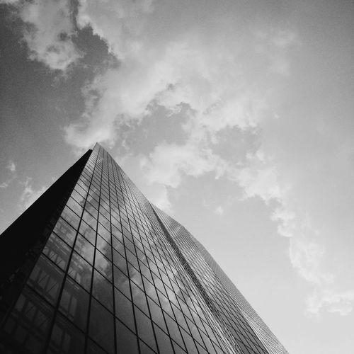 Urban Sky Blackandwhite Black & White Time To Reflect