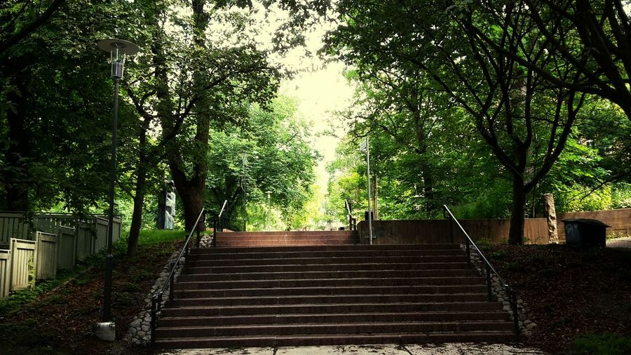 Stairs to the
