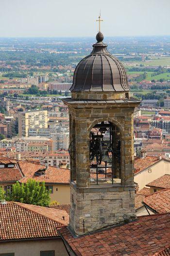 Church is calling. Happy Sunday Love To Travel Bergamo, Italia