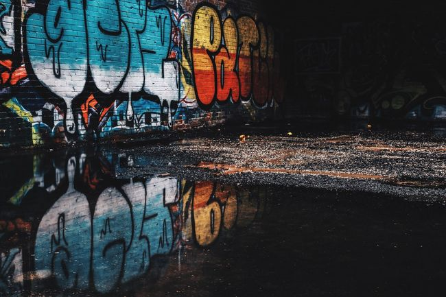 Reflecting Recommended Photographers January Light And Shadow EyeEm Best Shots Creative Light And Shadow Showcase: January It's Cold Outside Natural Light Texas Abandoned EyeEmBestPics Urbanexploration Urbex EyeEm Abandoned Graffiti