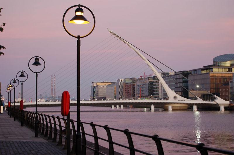 Samuel Becket bridge Architecture Bridge Bridge - Man Made Structure Day Dublin Engineering Lamp Post Liffey Liffeybridge Liffeyriver River Samuelbeckettbridge Water Waterfront