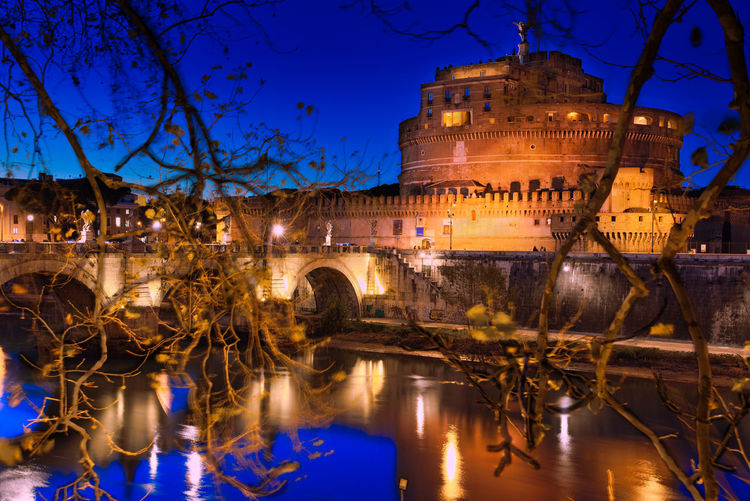 Memorial Tiber River Bluehourphotography Castel Sant'Angelo ROME Rome Italy🇮🇹 Castel Sant'Angelo Romebynight Monuments Nightphotography Night Lights Night Photography Saint Angelo Bridge Saint Angelo Castle Nightphoto Nightphotography Nightshot Historic Mausoleum Illuminated City Sky Architecture Close-up