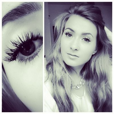 Make-up Young Adult Eye Make-up Eyelash Young Women Close-up Lashextensions Adult Eye Makeup Me Model Natural