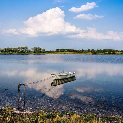 Rowboat in