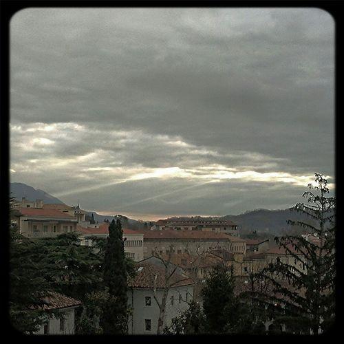 Sun Rays Raggi Di Sole Mattina Gorizia #nuvole #clouds #morning