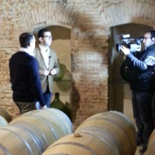 Hoy grabamos para Lavinoteca en Dehesadelosllanos Albacete