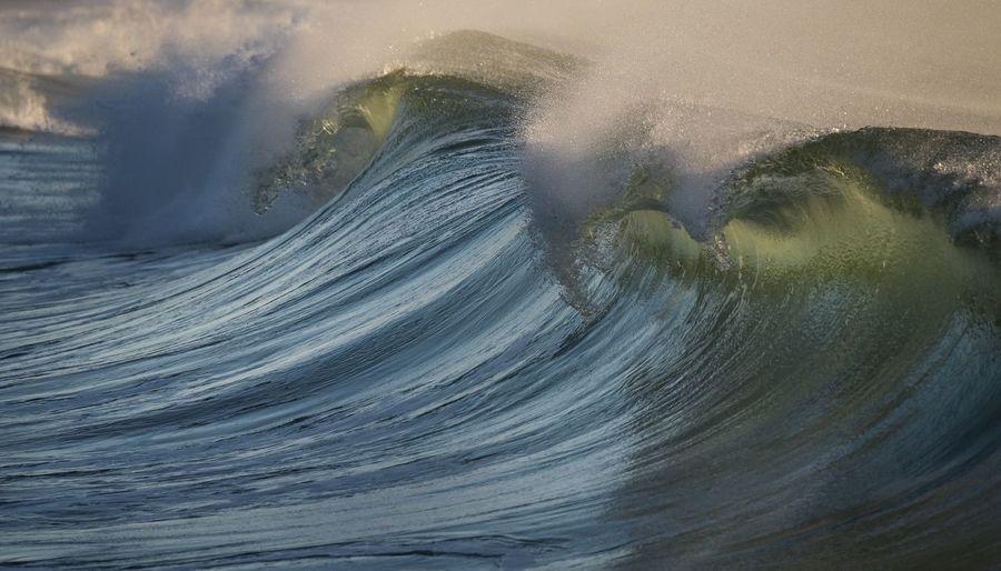 Waves Surf Sea
