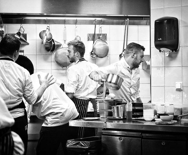 Real People Food Kitchen Teamwork Chefstalk Cheflife Cheff Chef At Work Madam restaurant Busy Service David Baxter Adam Toren Adam Lookout