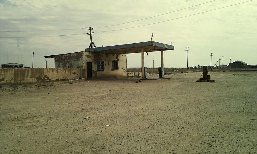 Пост-апокалипсис уже здесь Ex-gas station, Saigon, Mangistau, Kazakhstan, No People Architecture