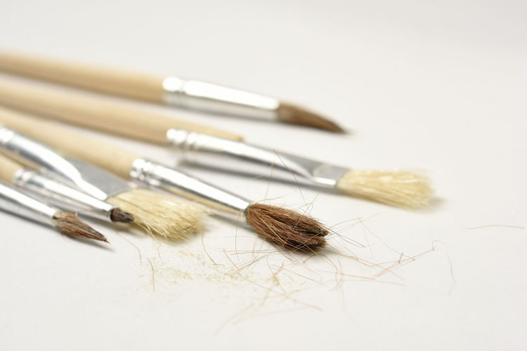 cheap brushes -