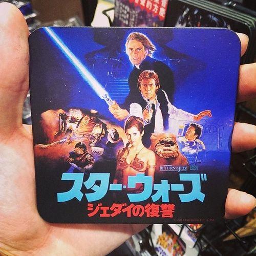 Japanese Return of Jedi coaster! Awesome Starwars Jedi Japanese  Japan Returnofthejedi