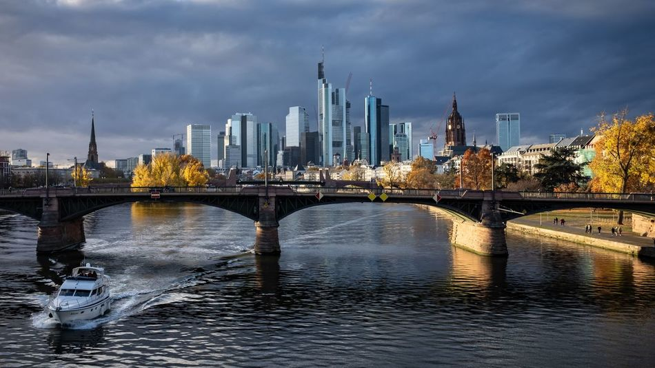 autumn light and mood in the city of Frankfurt, Germany built structure Architecture bridge connection bridge - man made structure water building exterior City sky Transportation river cloud - sky Nature urban skyline building waterfront office building exterior Cityscape landscape skyscraper outdoors arch bridge Built Structure Architecture Bridge Connection Bridge - Man Made Structure Water Building Exterior City Sky Transportation River Cloud - Sky Nature Urban Skyline Building Waterfront Office Building Exterior Cityscape Landscape Skyscraper Outdoors Arch Bridge Financial District  Autumn Mood EyeEmNewHere Autumn Mood