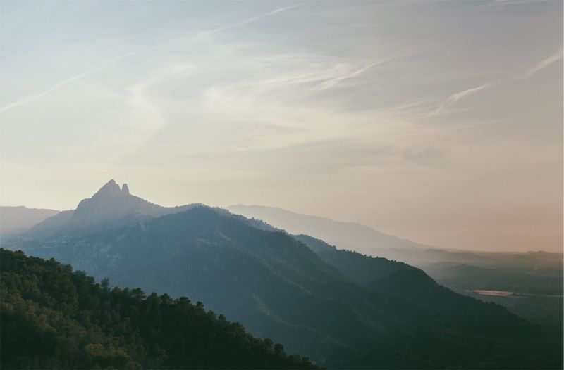 Murcia Landscape Mountain Beauty In Nature Scenics - Nature Tranquil Scene Sky Tranquility Tree Mountain Range Plant Non-urban Scene Cloud - Sky Nature Environment No People Landscape Idyllic Remote Outdoors Day Mountain Peak A New Perspective On Life