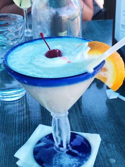 Summer Piña Colada Drink Cocktail