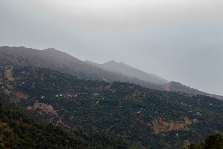 Chimgan mountains, clouds