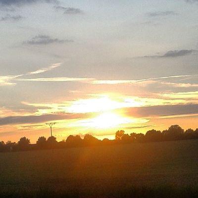 Sonnenuntergang Gestern Schön Sonne Sommer Sonnenschein  Gutelaune Schöner_tag