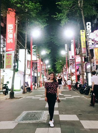 loving Taiwan Taiwan Beautiful View Taiwan Beautiful Scenery Taiwanscape Taiwan Trip Travel Travel Destinations Travelgram Traveling The World Traveling In Taiwan Escape Way Vacation Vacation Destination Vacation Time City Full Length Young Women Standing Looking At Camera Arts Culture And Entertainment City Life Front View Pedestrian Crosswalk Pedestrian Walkway Crossroad Road Intersection
