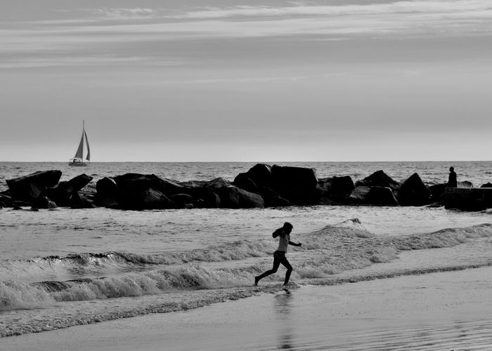 Venice Beach Los Angeles, California Blackandwhite Monochrome Nikon