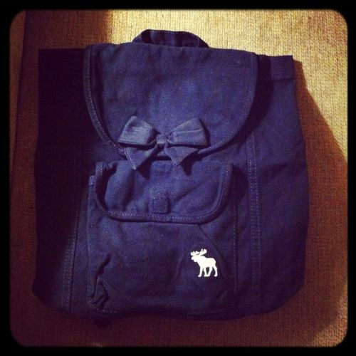 New Abercrombie Backpack!