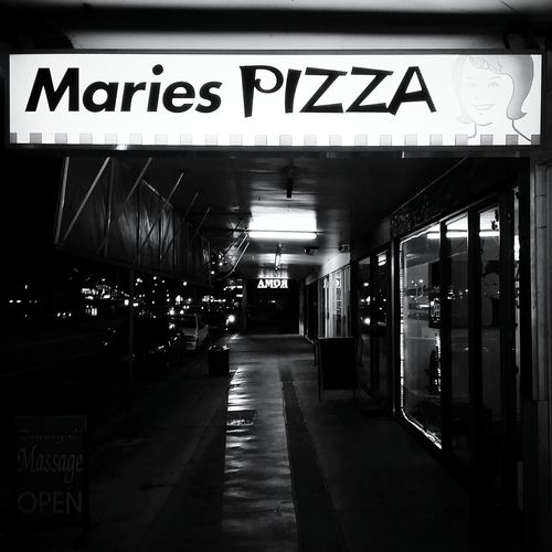 Pizza Pizza Time Blackandwhite Monochrome Night Nightphotography Night Lights Streetphotography Streetphoto_bw Discover Your City