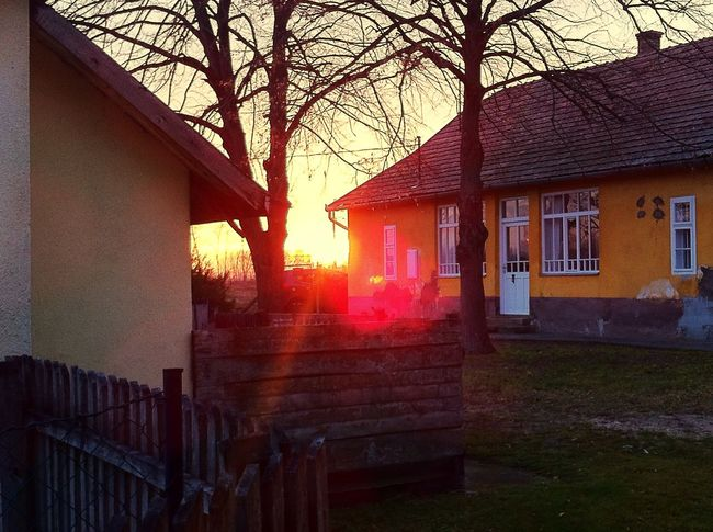 Sunset in Hungary Sun Sunset_collection Sunset Hungary House Home Inlaws Sweet Love Sunshine