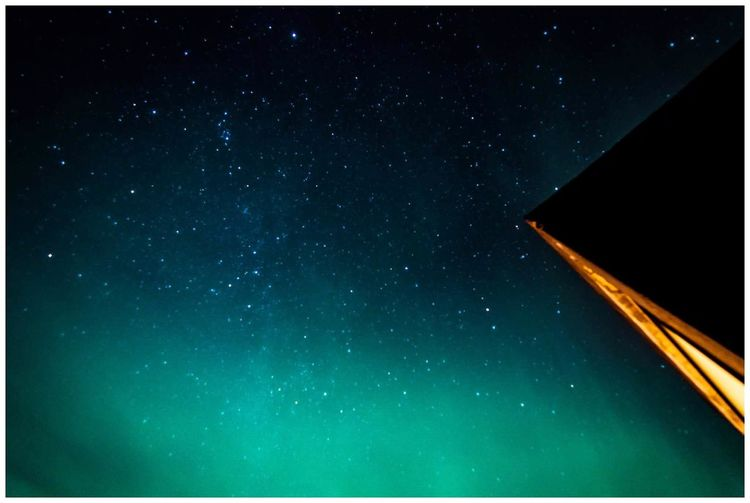 The Great Outdoors - 2017 EyeEm Awards Star - Space Night Astronomy Sky Outdoors Low Angle View Nature Beauty In Nature Space Clear Sky Nothern Lights  Iceland Hotel Laki