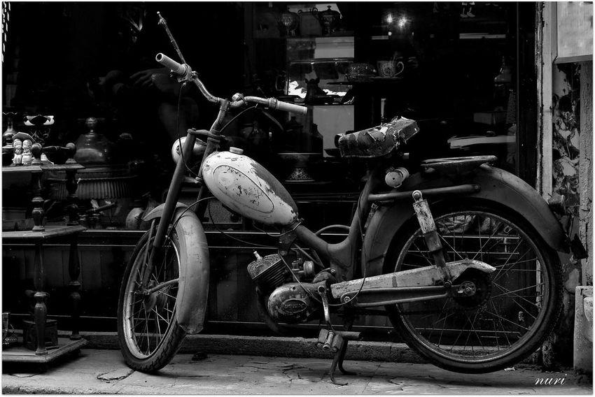 Black & White Monochrome Motorcycles