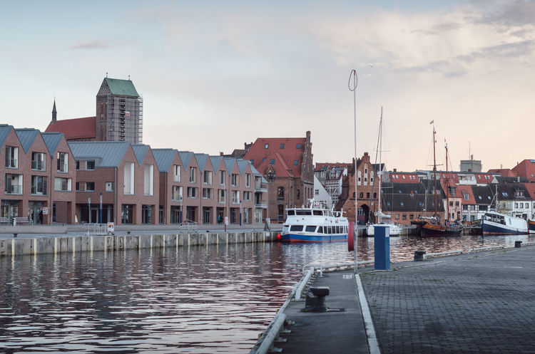 wismar harbor scenes Architecture Building Exterior Built Structure City Cloud - Sky Day Harbor Mecklenburg-Vorpommern Moored Nature Nautical Vessel No People Outdoors Sky Water Wismar Yacht