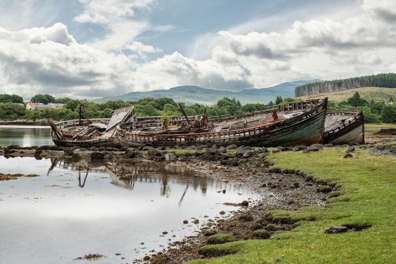 Boat Wreck Ship