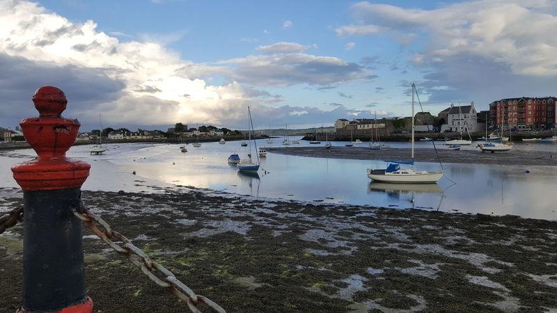 Dungarvan Ireland Habour Habour View Nautical Twilight Sea Cloud - Sky No People