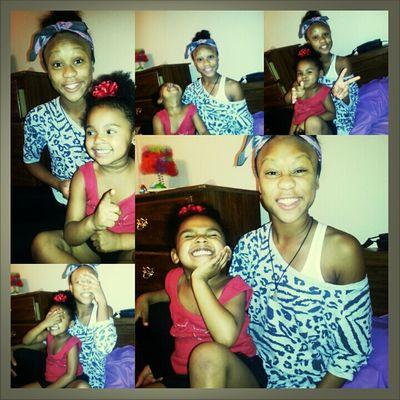 Ahhhh The Lil Sis & I !