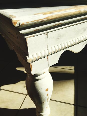 Close-up No People Furniture Photography Furniture Restoration Creativity Part Of My Therapy To Make New Again White White Color In The Beginning  Work In Progress Working