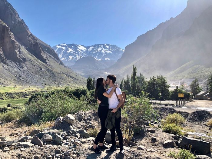 Awkward kissing. Mountain Togetherness Two People Women Adult Couple - Relationship Love Beauty In Nature Leisure Activity Mountain Range Nature Positive Emotion Lifestyles Bonding Young Women Real People Scenics - Nature #NotYourCliche Love Letter #NotYourCliche Love Letter