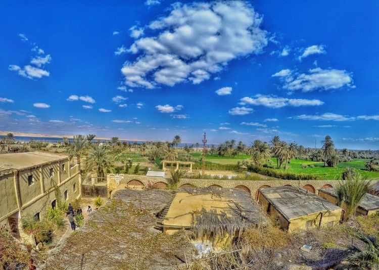 Gopro Goprohero4 Goprooftheday Egypt Fayoum Egypt Egyptian Culture Egyptphotography Agriculture Sky Landscape Cloud - Sky Terraced Field Satoyama - Scenery Fence Cultivated Land Plantation Agricultural Field Shore Farmland