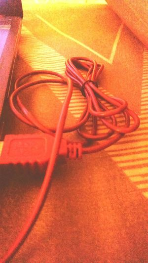 The red cable