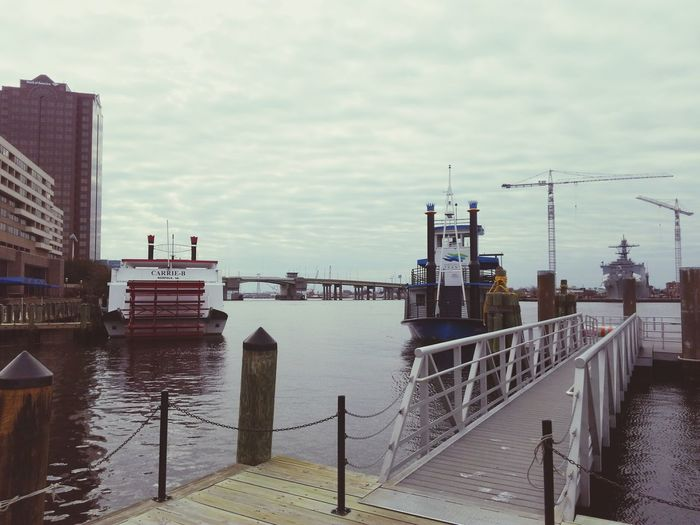 Elizabeth River Ferry Nautical Vessel First Eyeem Photo