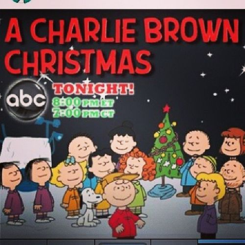 Reminder! Tonight! CharlieBrownChristmas Charliebrown Snoopy Peanuts love thatswhatchristmasisaboutCharlieBrown
